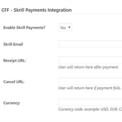 Skrill Payments Integration Add-On