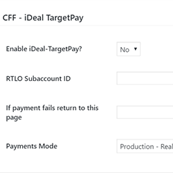 iDeal TargetPay Add-On