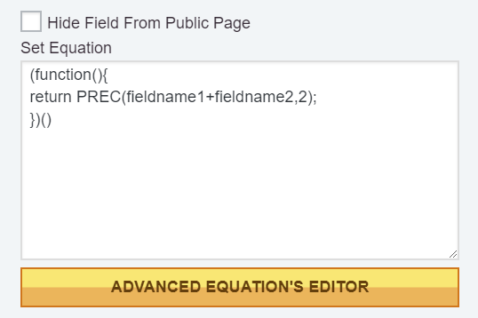 Advanced Equation Editor Button