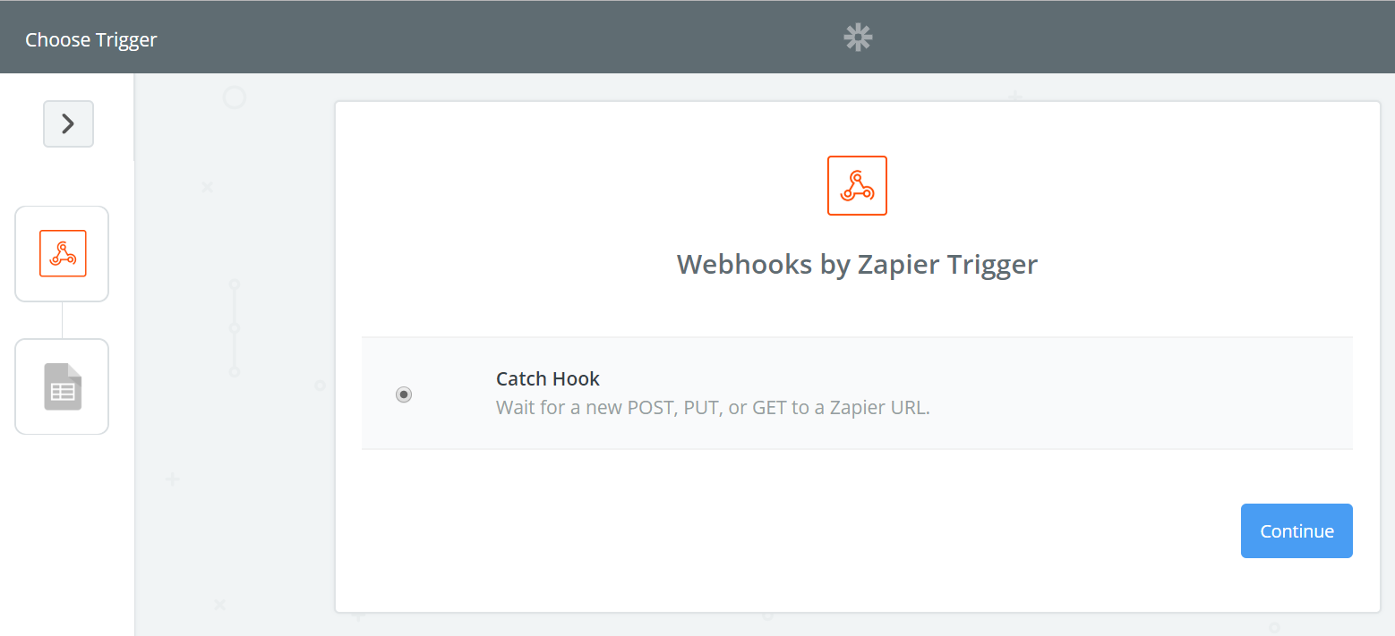 Zapier step two