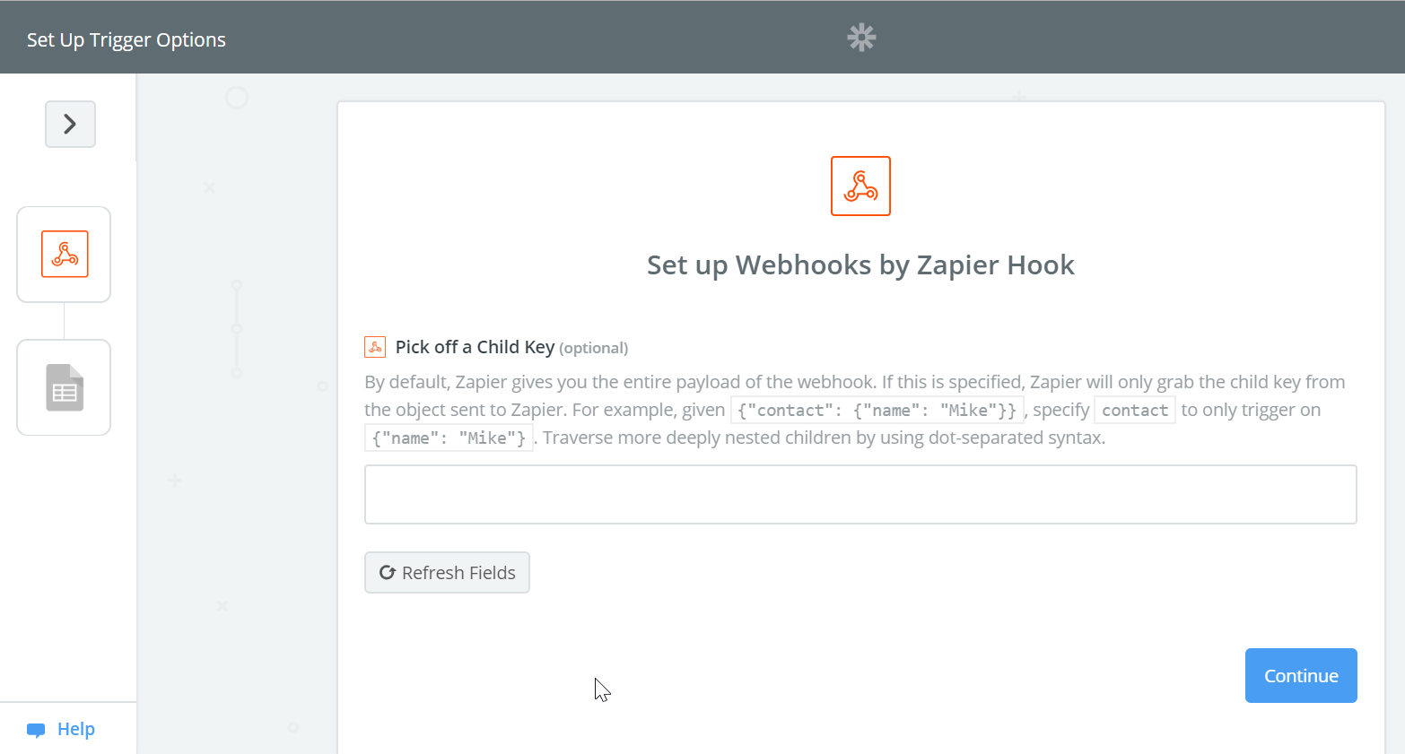 Zapier step three