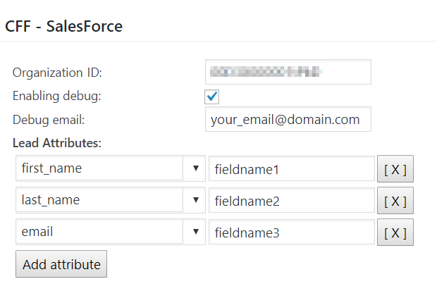 SalesForce Add-on