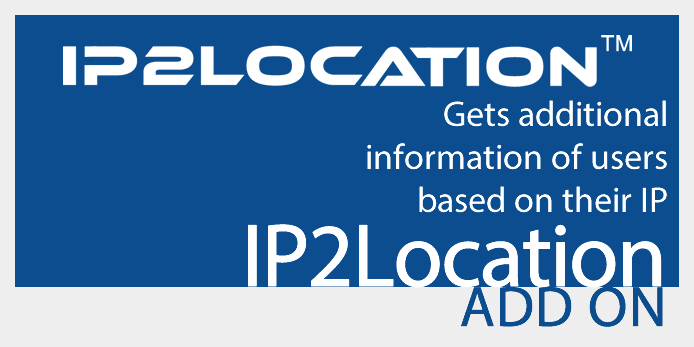 IP2Location add-on