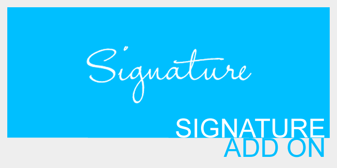 Signature add-on