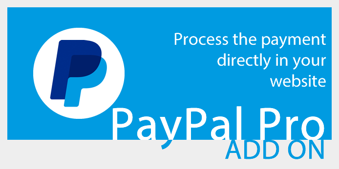 PayPal Pro add-on